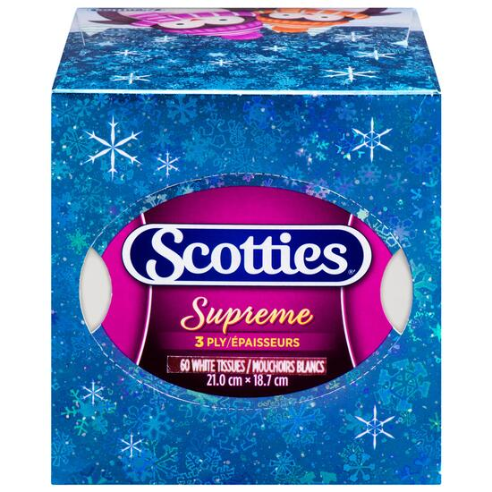 Scotties Facial Tissue Holiday Cube