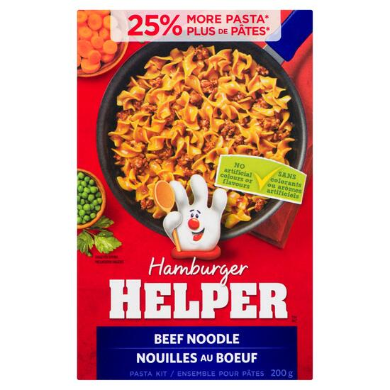 Betty Crocker Hamburger Helper Beef Noodle - 200g