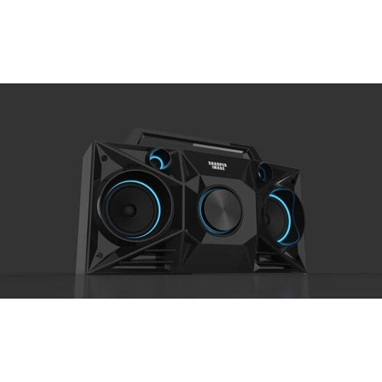 Art + Sound Streetbeat Black Wireless Bluetooth Boombox