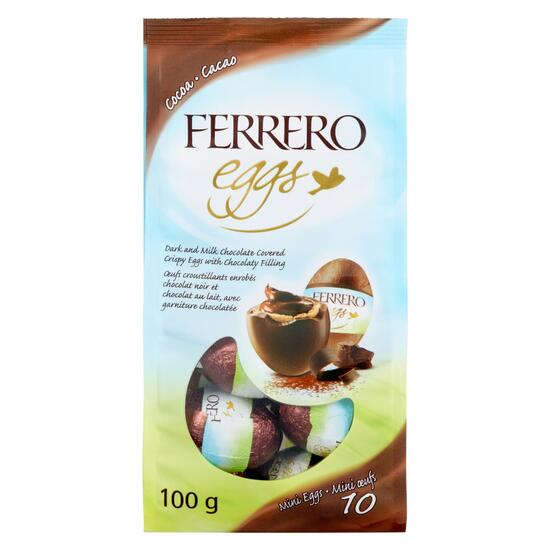 Ferrero Rocher Cocoa Mini Eggs 10pk. - 100g