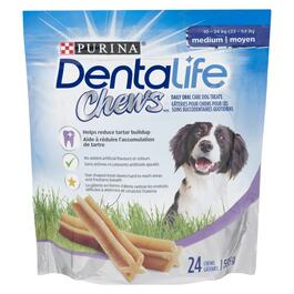 Purina DentaLife Chews Dog Treats - 595g