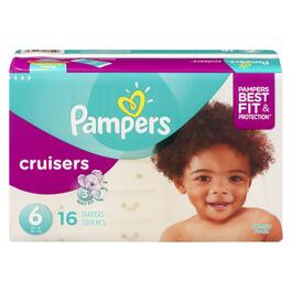 Pampers Size 6 Cruisers Diapers - 16pk.