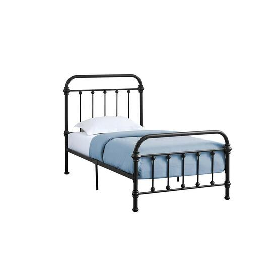 Monarch Specialties Black Metal Bed Frame - Twin