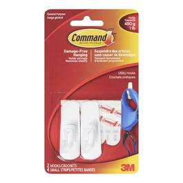 Command Small Hooks - 2pk.
