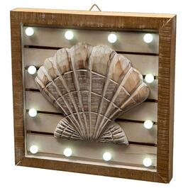 LED Shell Wall Art