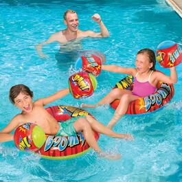 Banzai Pool Party Splash Boppers - 4pc.