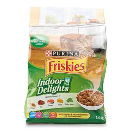Purina Friskies Indoor Delights Cat Food - 1.4kg