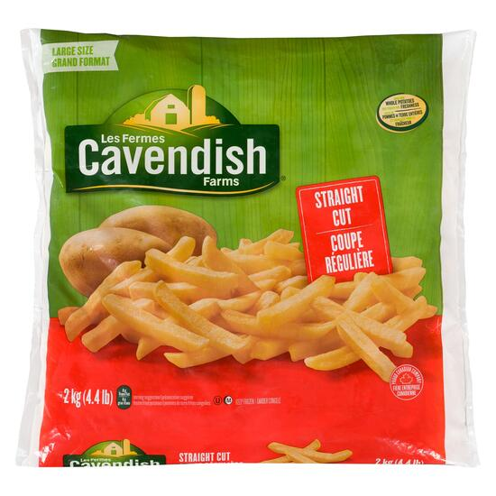 Cavendish Farms Straight Cut Fries - 2kg