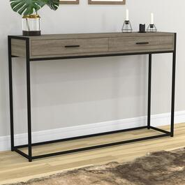 Safdie & Co. Console Table - Dark Taupe