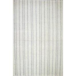 Avocado Décor Stitch Ivory Dhurrie Saddle Rug - 2ft. x 3ft.