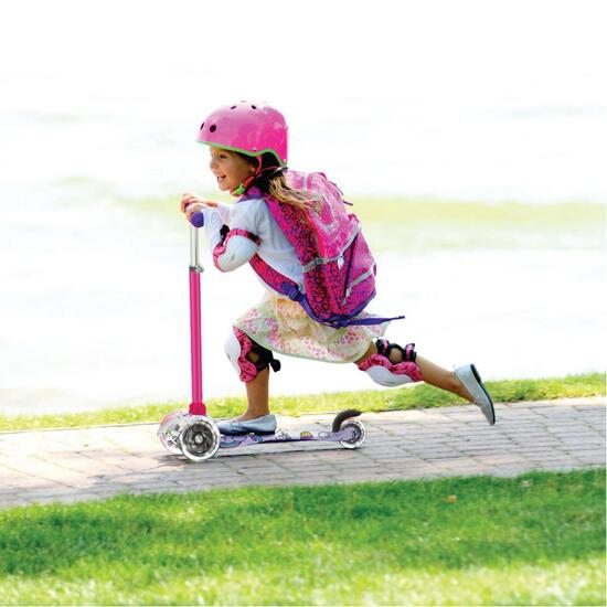 Rugged Racers Unicorn Kids Scooter With LED Wheels