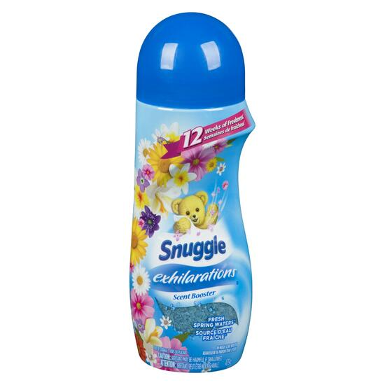 Snuggle Exhilarations In-Wash Scent Booster, Fresh Spring Waters - 439g