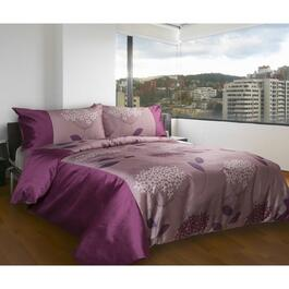 Gouchee Design Garden at Dusk Fuschia Double/Queen Duvet Cover Set - 3pc.