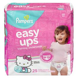 Pampers Girls Easy Ups Training Underwear 25pk. - 2T-3T
