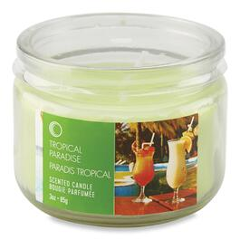 Tropical Paradise Scented Candle - 3oz.