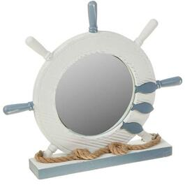 Ship Wheel Mirror