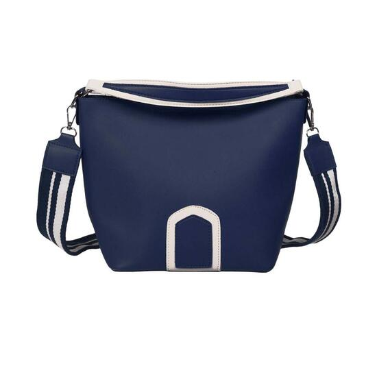 Nicci 2 Piece Unlined Tote Bag with Strap - Blue