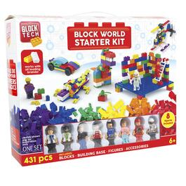 Block Tech Block World Starter Kit - 431pc.