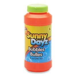 Assorted Sunny Dayz Bubbles with Wand - 8oz.