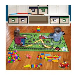 Children's Railroad Playmat