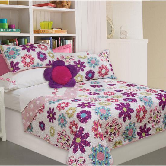 Safdie & Co. Holly Twin Premium Quilt Set - 2pc.