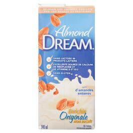 Almond Dream Unsweetened Fortified Almond Milk - 946ml