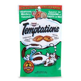 Whiskas Temptations Seafood Medley Cat Treats - 85g