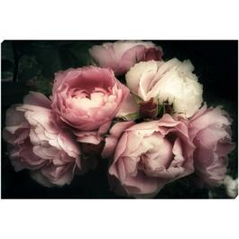 Bouquet of Pink Roses Canvas Art - 36in.