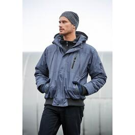 Mountain Ridge Men's Navy Bomber Puffer Jacket - S-XXL