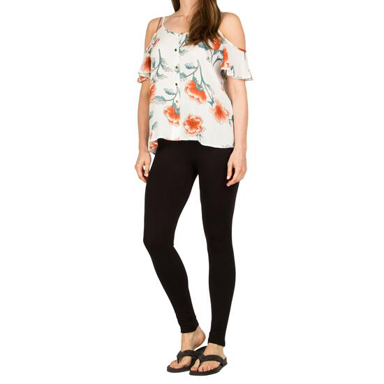 lily morgan Women's Black Viscose Leggings - S-XL