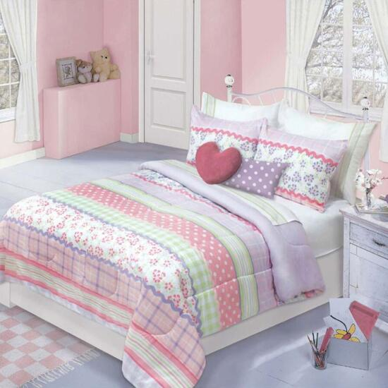 Sofia Printed Comforter Set - 2pc.