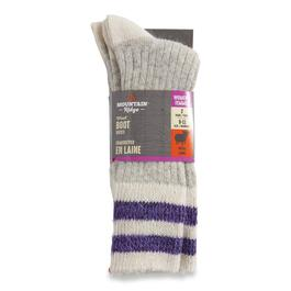 Mountain Ridge Women's Wool Boot Socks 2pk. - 9-11