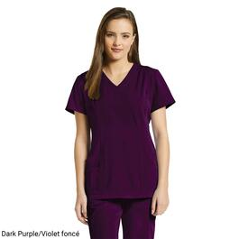 White Cross Women's Marvella V-Neck Stretch Scrub Top - XXS-XL