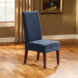 Surefit Stretch Piqué Navy Slipcover for Dining Chair