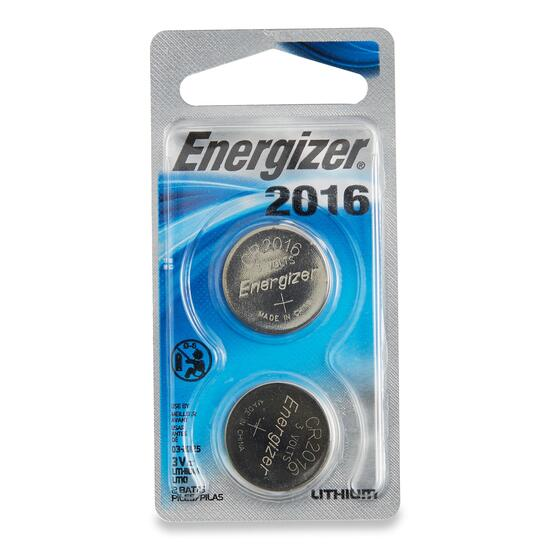 Energizer 2016BP Batteries - 2pk.