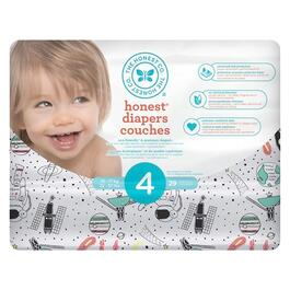 The Honest Company Painted Feather Patterned Diapers Size 6 - 88pk.