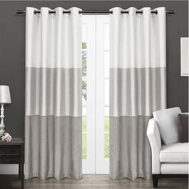 Exclusive Home Chateau Striped Curtains - 84in.