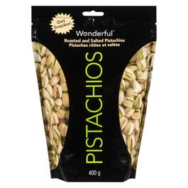 Wonderful Roasted and Salted Pistachios - 400g