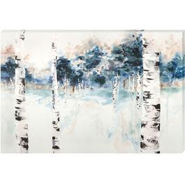 Blue Tint Forest Canvas Art - 24in. x 36in.