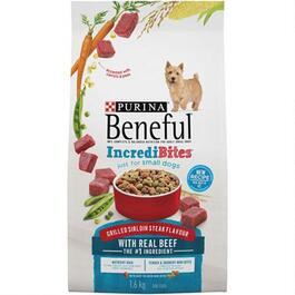Purina Beneful Beef Incredibites - 1.6kg