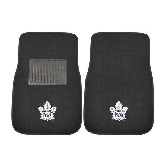 NHL Toronto Maple Leafs Embroidered Car Mat Set - 2pc.