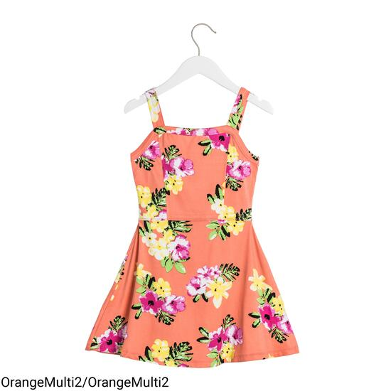 MONKEY BARS Girls Floral Swing Dress - 2-6X