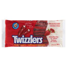 Twizzlers Candy Filled Twists Strawberries 'N' Crème - 343g