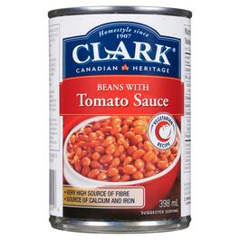 Clark Beans with Tomato Sauce - 398ml