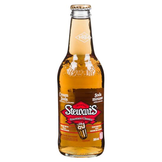 Stewart's Fountain Classics Cream Soda - 355 ml