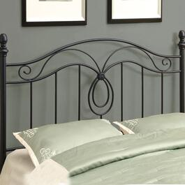Monarch Specialties Inc. Queen/Full Combo Black Headboard