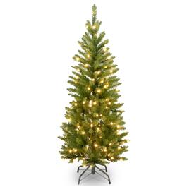 National Tree Kingswood® Fir Tree with Clear Lights -4.5ft