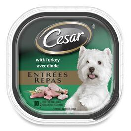 Cesar Entrées with Turkey for Small Dogs - 100g