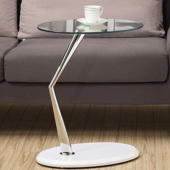 Monarch Specialties Inc. White Accent Table
