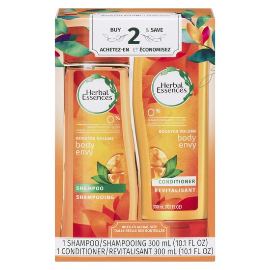 Herbal Essences Body Envy Shampoo and Conditioner - 2pk.